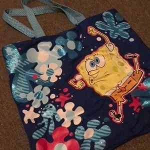Other - Spongebob tote bag